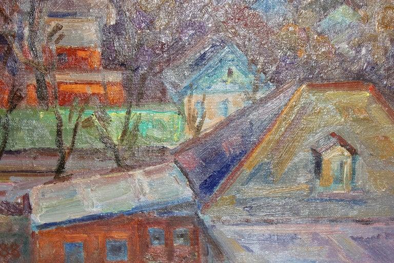 Oil painting, Russian - soviet artist, Samochwalow (Samokhvalov) For Sale 2