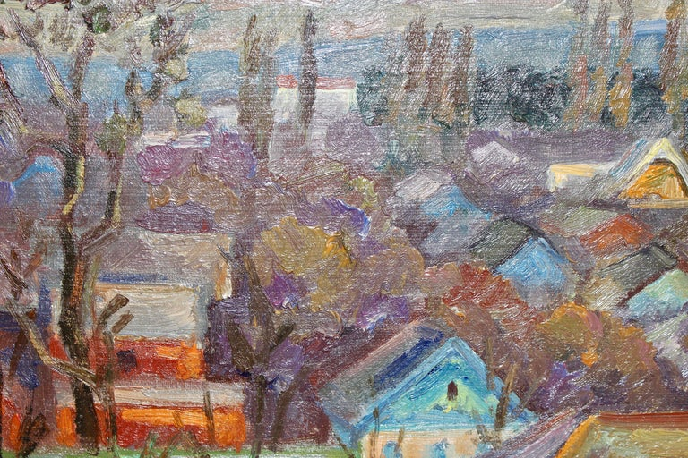 Oil painting, Russian - soviet artist, Samochwalow (Samokhvalov) For Sale 3