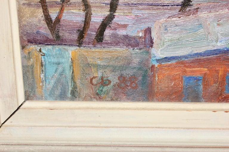 Oil painting, Russian - soviet artist, Samochwalow (Samokhvalov) For Sale 4