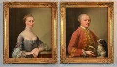 Pair Of Portraits Of French Nobles
