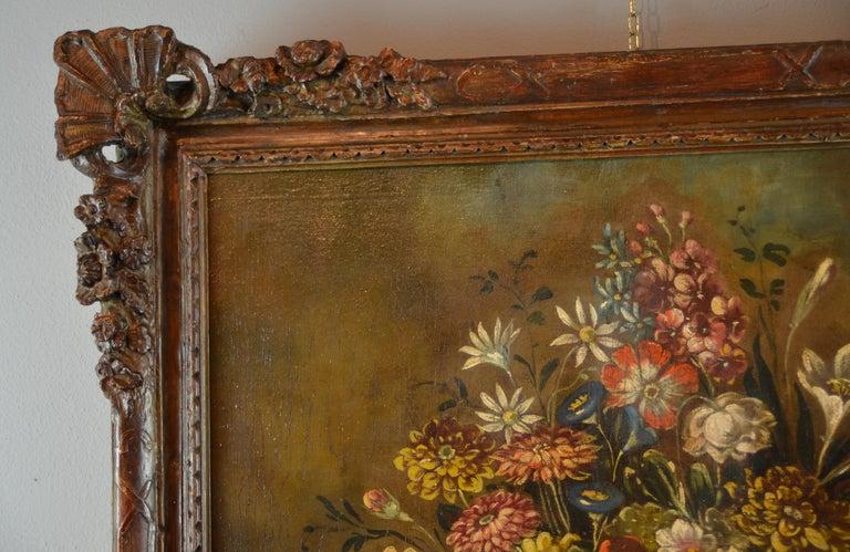 Still Life Italian School 19th Century Paint Oil on canvas Italy Art Quality For Sale 4