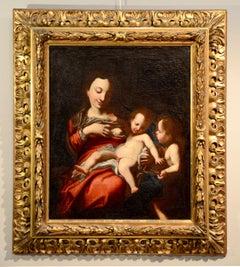 Correggio Virgin of milk Paint Oil on canvas 15/16th Century Italy Art Quality