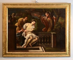 Susanna Elders Paint Oil on canvas Italy Art Quality Baroque Giordano Napoli