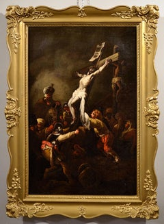 Cross Oil on canvas Paint 17th Century Rembrandt Baroque Jesus Art Quality
