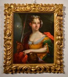 Judith Holopherne Stauder Baroque Paint Oil on canvas Art Italy 17th Century