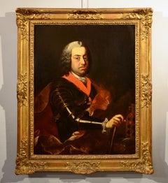 Portrait Emperor Paint Oil on canvas 18th Century Art Quality Baroque Austria