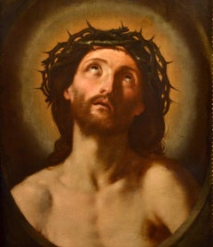 Ecce Homo Paint oil on canvas 17th Century Italy Christ Old master Religious Art