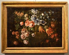 Flower Still Life Old Master 17th century Italy Paint Oil on canvas Quality Art