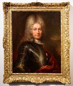 Rigaud Portrait Cavalier Paint Old master Oil on canvas 18th Century France Art