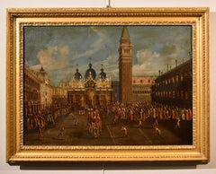 Venice Pain Oil on canvas Canaletto Old master 18/19th Century Landscape See