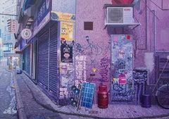 Zero - David Earle OIl Photorealist Landscape Painting