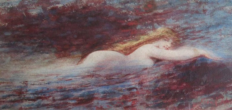 Frank Howland Nude - Little Mermaid - The Siren