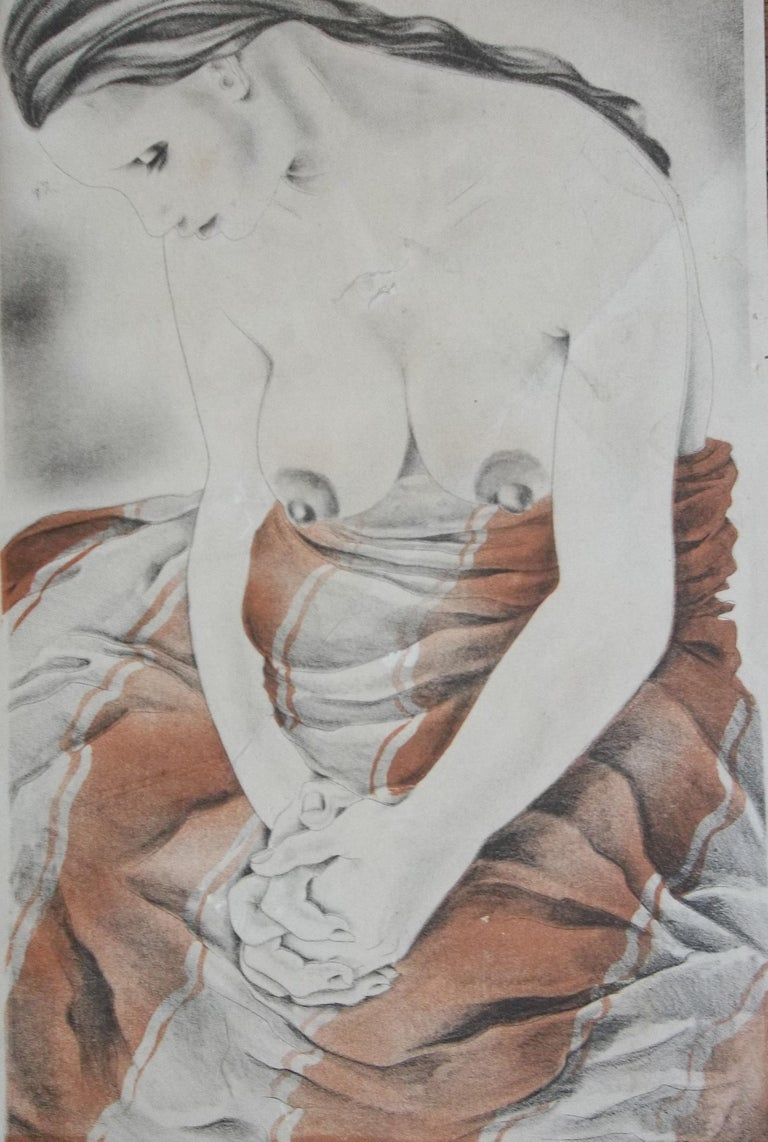 Art Deco Nude - the Courtisane For Sale 2