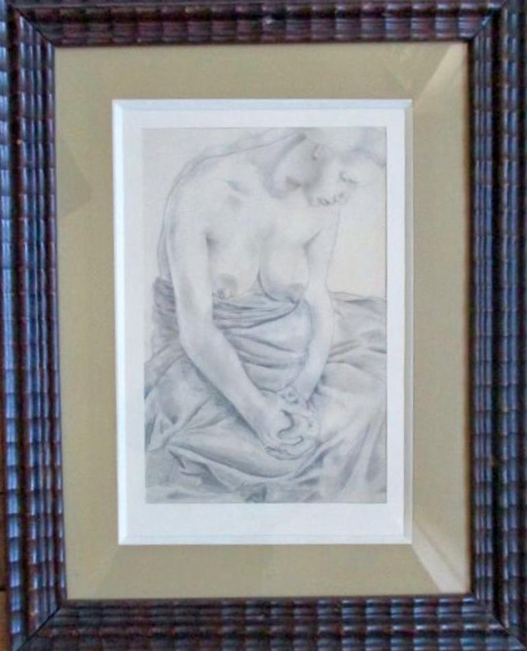 Art Deco Nude - the Courtisane For Sale 1