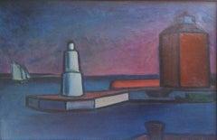 Scandinavian Modernist: Lighthouse at Helsingor. Exhibited at Venice Biennale