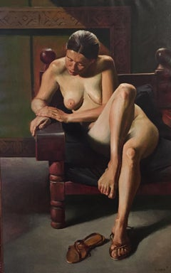 Seated Nude (Large)