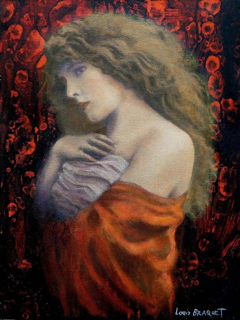 Louis Braquet Portrait Painting - Beata Beatrix