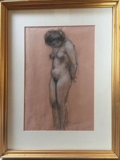 "Charles Richards (New Orleans), ""Standing Nude"""