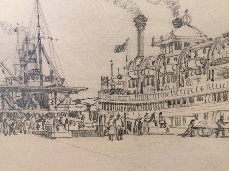 Morris Henry Hobbs (1892 - 1967) Riverboat
