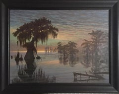 "Murrell Butler (Louisiana) ""Bayou Sunset"" (Large)"