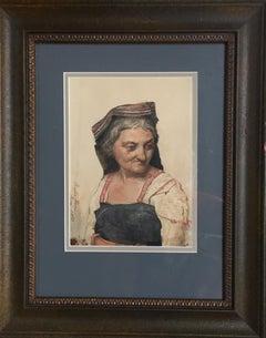 Roman Woman, 1870