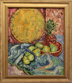 Still Life with Pears and Pineapples