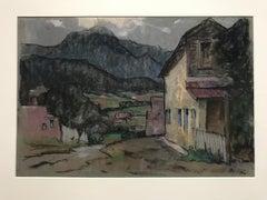 Farmhouse in Landscape