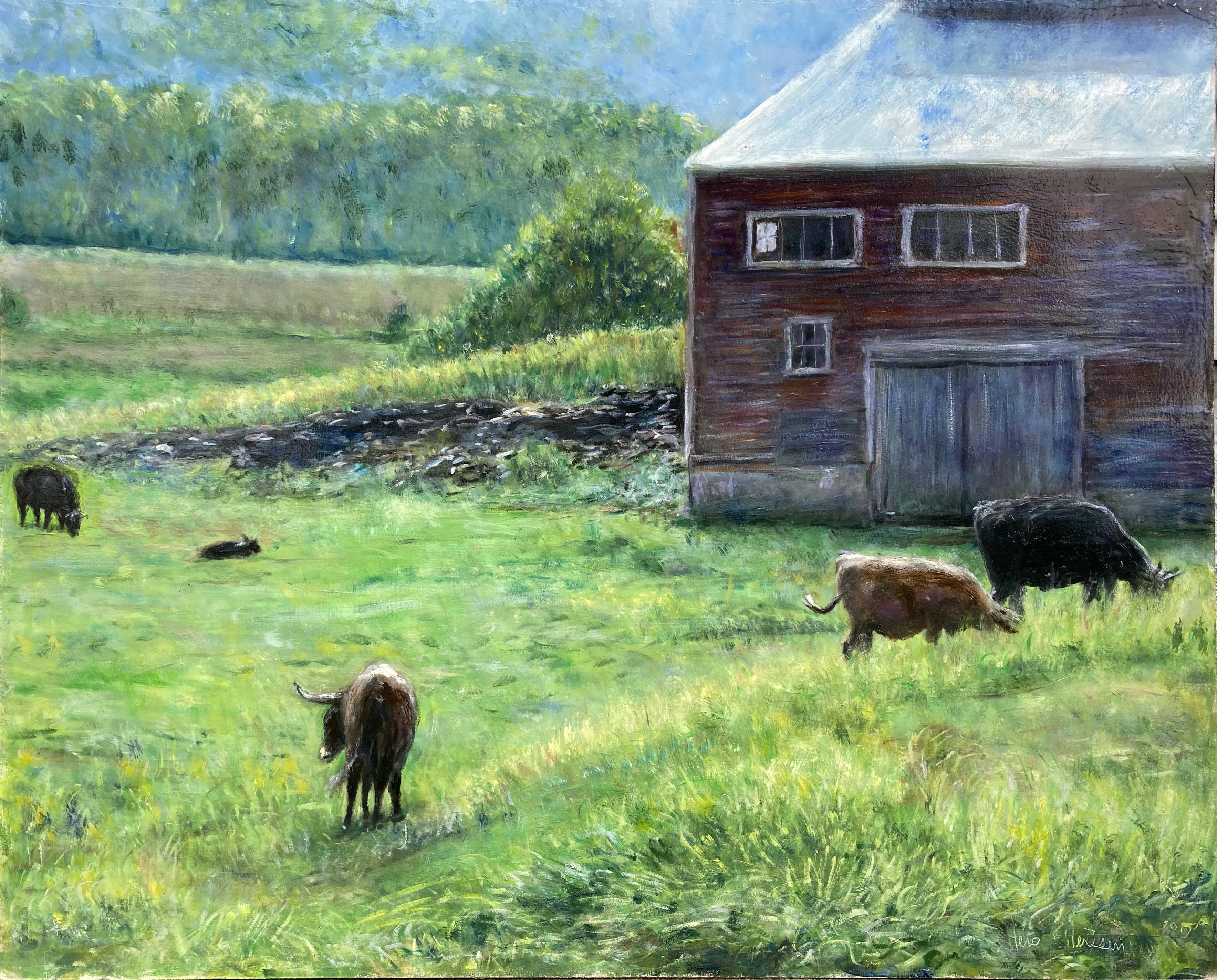 Farm on Route 5, Vermont
