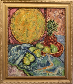 Still Life with Pears and Pineapple