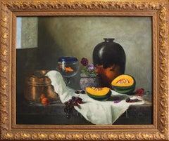 "Louis Tedesco, ""Still Life with Goldfish"""