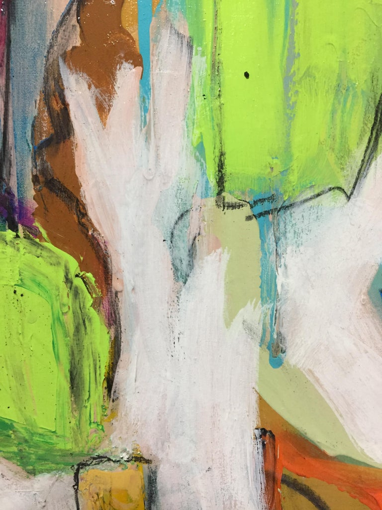 And All That - Abstract Expressionist Painting by G. Campbell Lyman