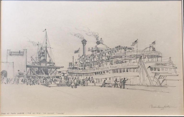"""Riverboat """"Capitol"""", New Orleans, 1938 1"""