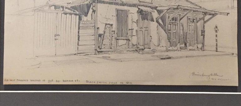 Lafitte's Blacksmith Shop, New Orleans 1