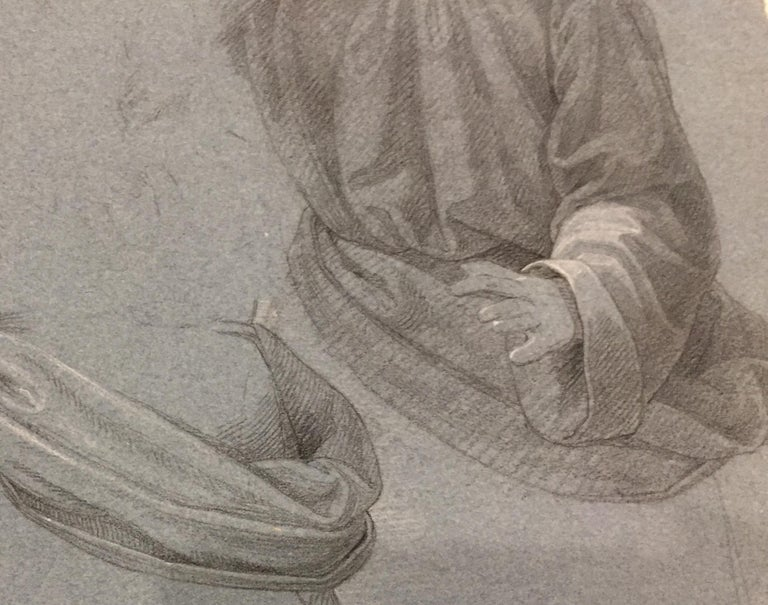 17th/18th Century Old Master Sketches - Old Masters Art by Unknown
