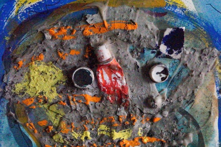 Chromanthropus - Painting by Leroy Miranda