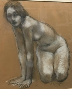 "Charles Richards (New Orleans) ""Crouching Woman"""