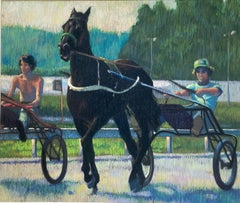 Glorious Morning (Horse Harness Racers)