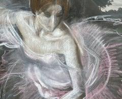 Ballet Dancer, Rose Variation (Large)