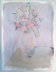 Flowers on White