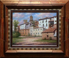 """""""Outside of Town"""" by Antonio Huerta 20 x 26 inches Oil on Canvas"""