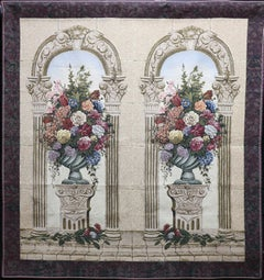 """""""The Arch Floral"""" Tapestry"""