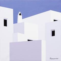 """Around Here Somewhere"" Oil on Canvas by Nuria Almarche"