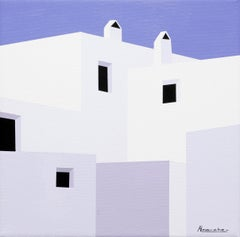"""""""The Outpost"""" Oil on Canvas by Nuria Almarche"""