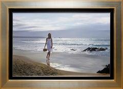 """Paseo por la Playa"" by Javier Pedrosa 21"" x 32"" Oil on Canvas"
