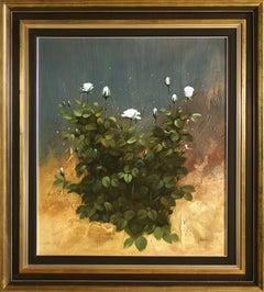 """Respect"" by Fernando Alcaraz 31 x 28"" Oil on Canvas"