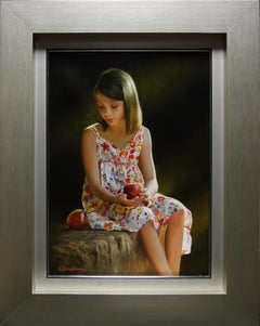 """""""Remembrance"""" by Fernando Pedrosa 18"""" x 13"""" Oil on Canvas"""