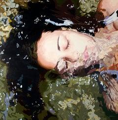 """Fragiles XIV"" by Rosana Sitcha 39"" x 39"" Acrylic on Board"