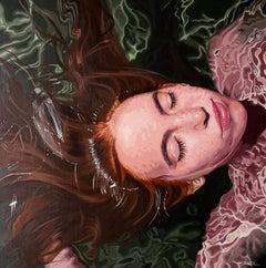 """Fragiles XX"" by Rosana Sitcha 31"" x 31"" Acrylic on Board"