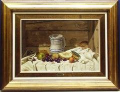 """Still Life"" by Vincente Esparza 16"" x 25"" Oil on Board"