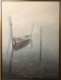 """""""Clear Water"""" Oil on Canvas by T. Sevecks 36"""" x 48"""""""